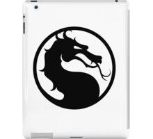 Mortal Kombat - Black Logo iPad Case/Skin