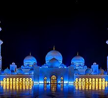 Shaikh Zayed Grand Mosque by tesugi