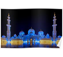 Shaikh Zayed Grand Mosque Poster