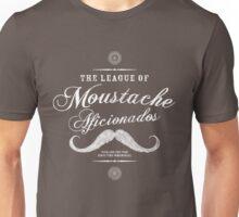 Movember - Moustache Afficionado League white Unisex T-Shirt