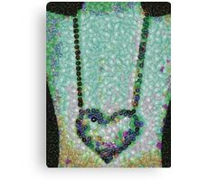 Hearted On Your Wall Medley Canvas Print