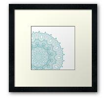 Ornate pattern Framed Print