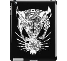 Black ZEF Graffiti Rat iPad Case/Skin