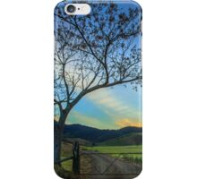 At the Gate - Gloucester NSW Australia iPhone Case/Skin