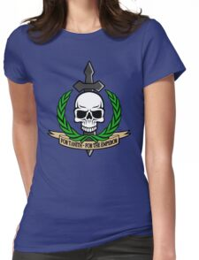 For Tanith - For The Emperor!  Womens Fitted T-Shirt