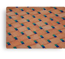 Floor Tile Canvas Print