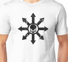 Mark of Chaos Distressed Black Unisex T-Shirt