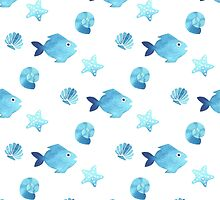 Fish pattern by julkapulka