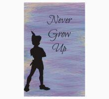 Never Grow Up One Piece - Long Sleeve