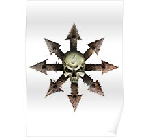 The Symbol of Chaos Poster