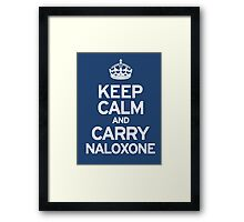 Carry Naloxone Framed Print