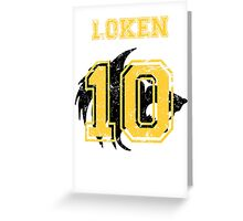 Team Captain: Loken Greeting Card
