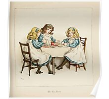 The April Baby's Book of Tunes by Elizabeth art Kate Greenaway 1900 0079 The Tea Party Poster