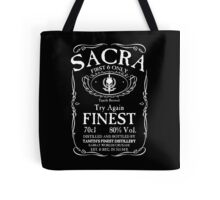 Try Again Finest Sacra Tote Bag