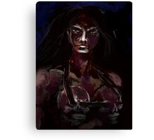 BLOOD DRENCHED Canvas Print