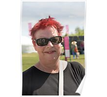 Jo Brand at Hampton Court Palace flower show 2015 Poster