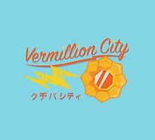 Kanto Gym Logos - Vermillion City (2015) by Cassandra  Downs