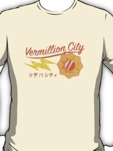 Kanto Gym Logos - Vermillion City (2015) T-Shirt