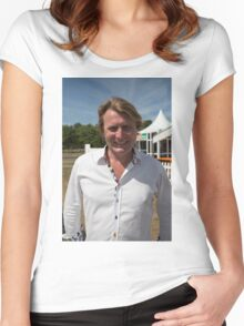 David Domoney at Hampton Court Palace flower show 2015 Women's Fitted Scoop T-Shirt