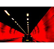 Through an Italian Tunnel Photographic Print