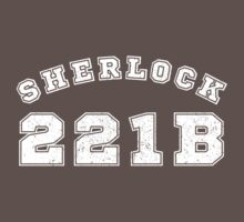 Sherlock 221b One Piece - Short Sleeve