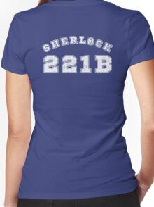 Sherlock 221b Women's Fitted V-Neck T-Shirt