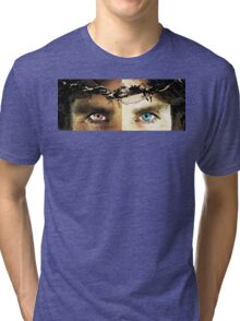 Jesus Christ - How Do You See Me Tri-blend T-Shirt