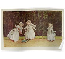 Kate Greenaway Collection 1905 0177 The Little Go Cart Poster