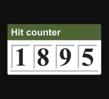 1895 Hit counter Kids Clothes