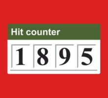 1895 Hit counter One Piece - Short Sleeve