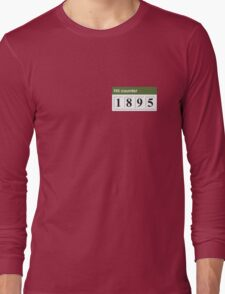 1895 Hit counter Long Sleeve T-Shirt