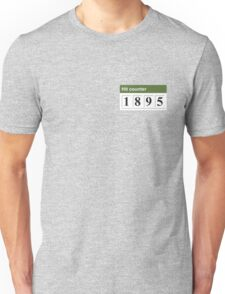 1895 Hit counter Unisex T-Shirt