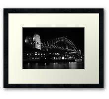 Harbour Bridge Framed Print