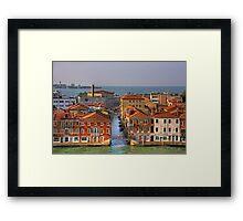 Ponte Picolo Framed Print
