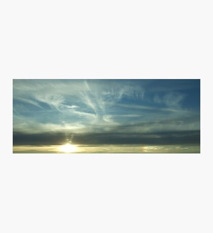 Layer Sky Photographic Print