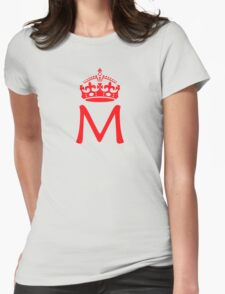 Moriarty in a crown Womens Fitted T-Shirt