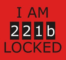I am 221b locked Kids Tee