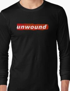 "Unwound - ""Unwound"" T Shirt Long Sleeve T-Shirt"