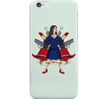 Fight like a Girl - Peggy Carter iPhone Case/Skin