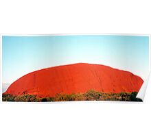 Sunrise at Uluru Poster