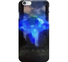 UFO Down Town by Raphael Terra iPhone Case/Skin