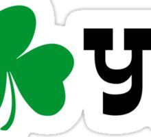I shamrock you Sticker