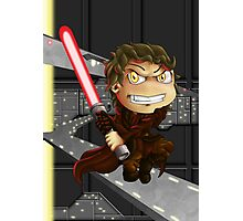 Anakin Skywalker (Chibi Sith) Photographic Print