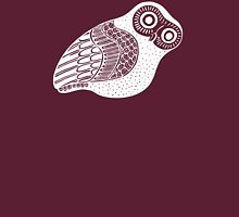 greek owl (white) Unisex T-Shirt