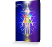Building The Mishkan Of Light Greeting Card