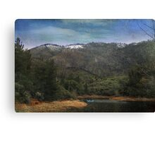 One Little Boat Canvas Print