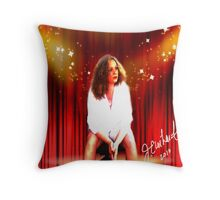 Center Stage Self Portrait Throw Pillow