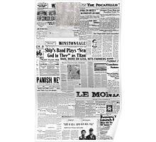 Newsprint Poster