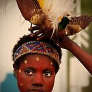 Face and Bird of Paradise | Dengal Dance #8 by RONI PHOTOGRAPHY