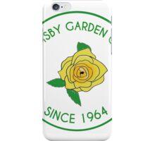 Grimsby Garden Club Logo iPhone Case/Skin
